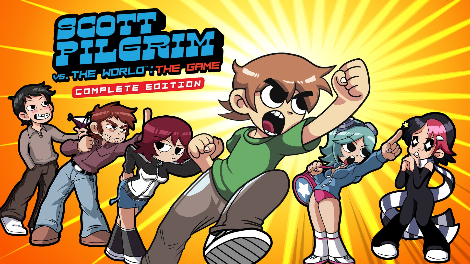 Scott Pilgrim vs The World: The Game